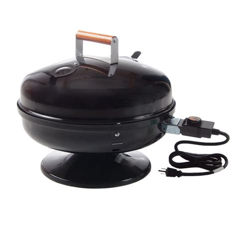 meco lock n go portable electric grill black 2120 bbq
