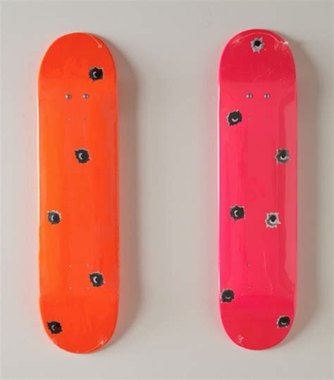supreme skateboarding supreme set of 2 supreme skateboards by nate lowman