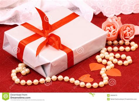 exciting gifts exciting gift for st day stock photo image
