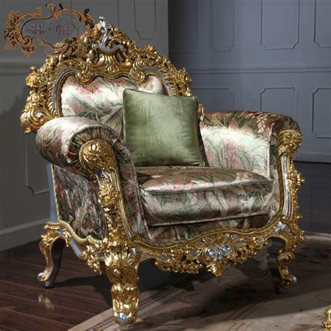 Italian living room furniture hand carved living room furniture sets Free Shipping