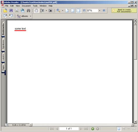 java pattern newline character chunks text rise underline chunk font 171 pdf rtf 171 java