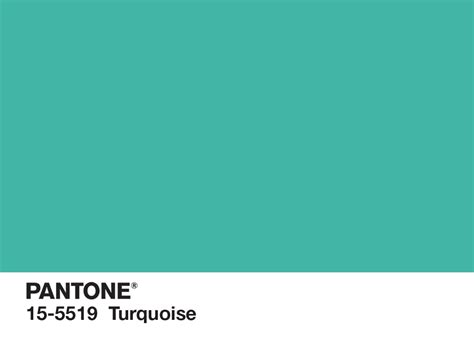 what color is turquoise pantone color of the year for 2010 pantone 15 5519