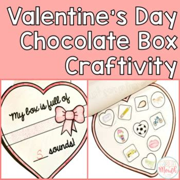 chocolate box s day s day chocolate box craftivity by word of