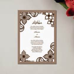 islamic wedding invitation wording unique wedding invitations