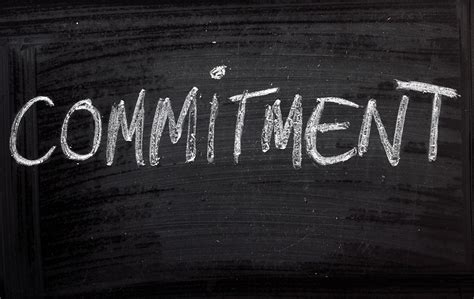 Commit To Commitment by Quotes On Commitment