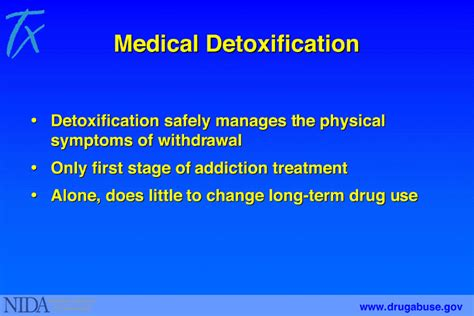 Term Medication Detox by 8 Detoxification National Institute On