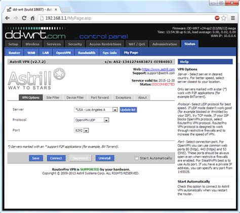 supported devices dd wrt wiki astrill setup manual installing astrill vpn applet onto