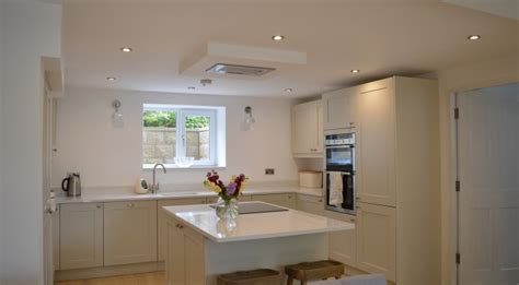 Farrow And Shaded White Kitchen Units by Real Kitchens Interiors 4 Living