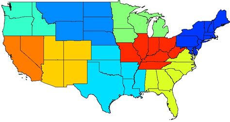 climate zone map united states climate zone map of the united states clipart best