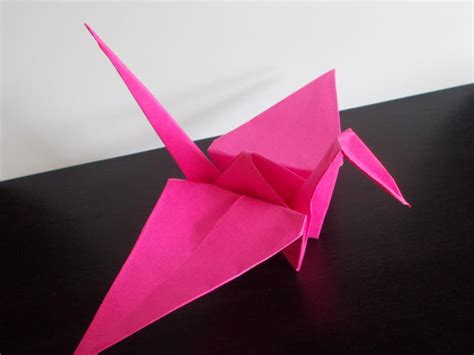 History Of Origami Cranes - traditional origami crane
