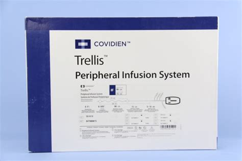 Trellis Peripheral Infusion System covidien autosuture bvt808015 covidien trellis peripheral infusion system 80cm x 15cm 8f