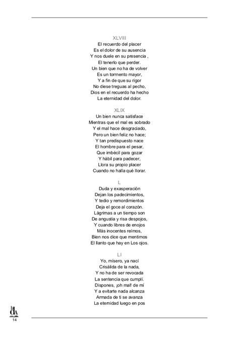 poemas romanticos de cuatro estrofas literatoes 18 poemas de rafael pombo