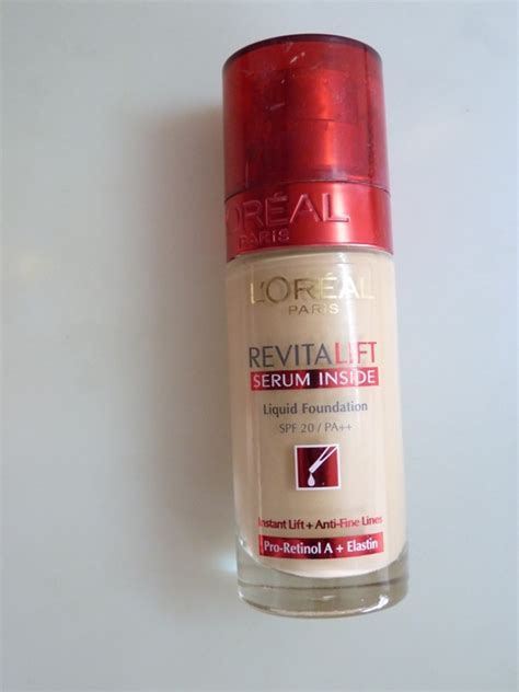 Serum Loreal Revitalift l oreal revitalift serum inside liquid foundation review