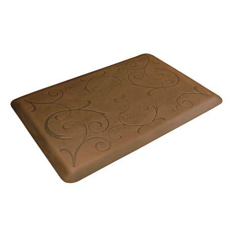 kitchen comfort mats rugs wellness mats antique light motif 3 ft x 2 ft kitchen comfort mat on sale free shipping us48