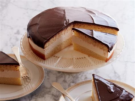 boston cream pie cheesecake recipe food network kitchen