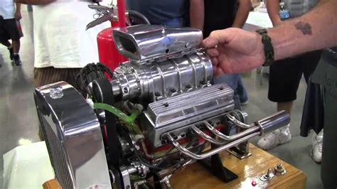 miniature blown  engine youtube