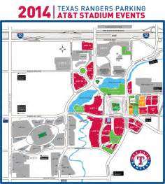 rangers parking map at t stadium events and parking rangers