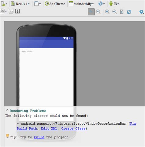 android studio layout preview rendering problem setting up android studio space skills space skills