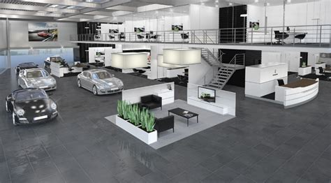 Showroom Porsche Porsche Showroom By The Store Designers 174 187 Retail Design