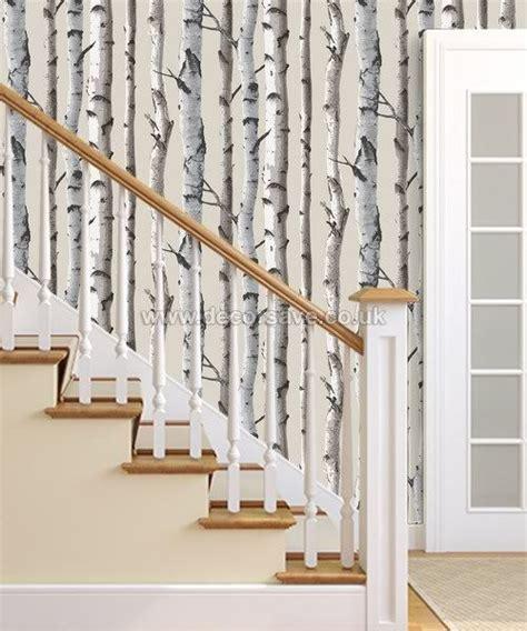 tree wallpaper for walls uk fine decor distinctive birch tree wallpaper fd31051