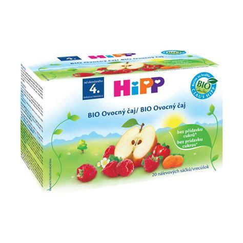 Bio Apotek hipp bio ovocn 253 芻aj n 225 levov 233 s 225 芻ky 4m 20x2g apotek cz