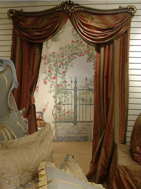 Curtain Swing Rods Small Window Curtains Decorlinen Com