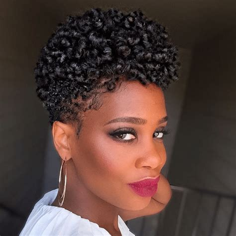 short natural hairstyles with rod curls video unique curly hairstyle for short natural hair