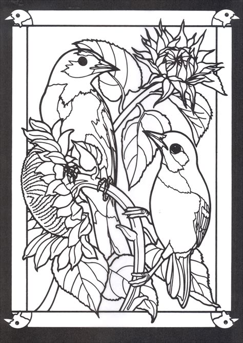 stained glass coloring book stained glass coloring book coloring pages