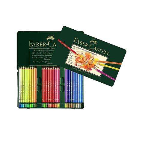 Faber Castell Polychromos 60 Colors faber castell color pencils polychromos 60 set highlights