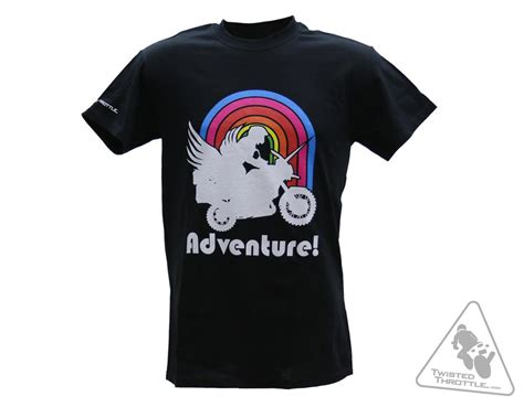 Adventure T Shirt twisted throttle quot unipegacycle adventure quot t shirt