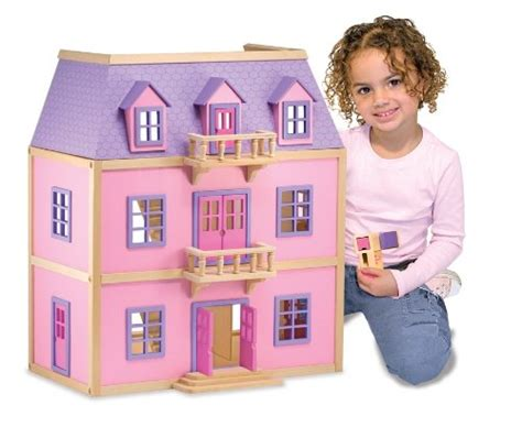 melissa doug doll house dollhouses the old blue door