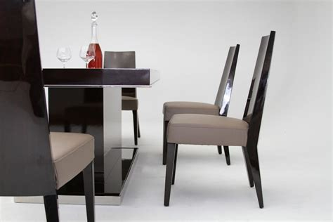 modern lacquer furniture modrest noble modern lacquer dining table vig furniture