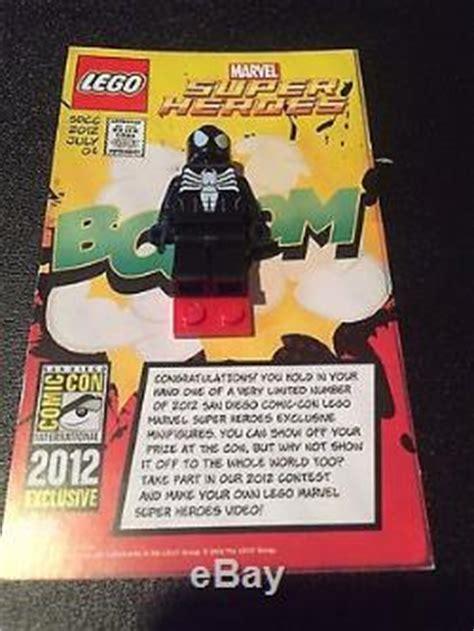Exklusif Lego Minifigures Panda Suit Limited 2012 lego marvel sdcc spider black symbiote suit minifigure comic con 1 1000