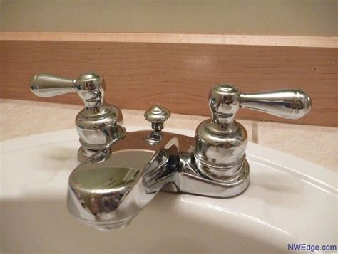 how to fix a leaking delta two handle bathroom faucet