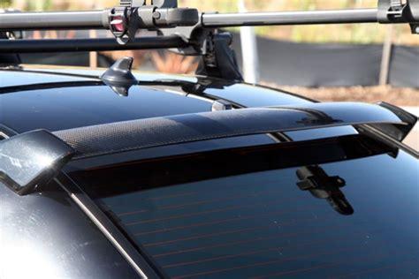 2008 wrx roof spoiler carbon fiber rear roof spoiler for 2006 2007 subaru
