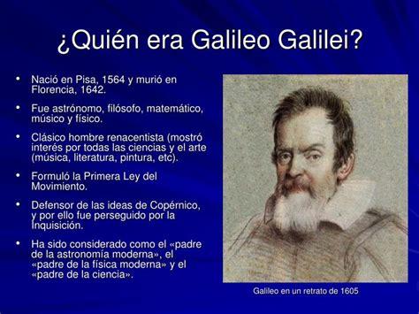 biografia de galileo galilei descubrimientos e historia de ppt galileo y el telescopio refractor powerpoint