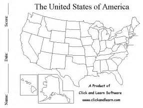 blank us states map quiz printable