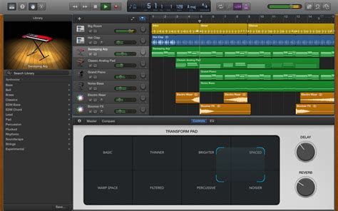garageband house music garageband for os x gets its edm hip hop and funk on imore