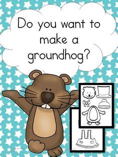 groundhog day meaning for preschoolers groundhog day crafts print your groundhog template at