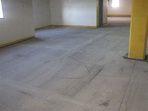 Repairing A Garage Floor by Before And After Photos Foundation Repair Garage
