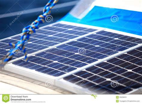 solar panels in sailboat renewable eco energy royalty