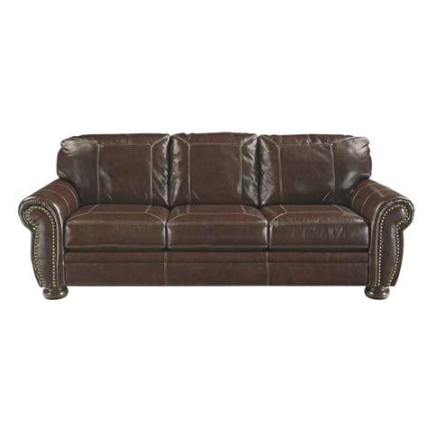 Coffee Leather Sofa Banner Leather Sofa In Coffee 5040438