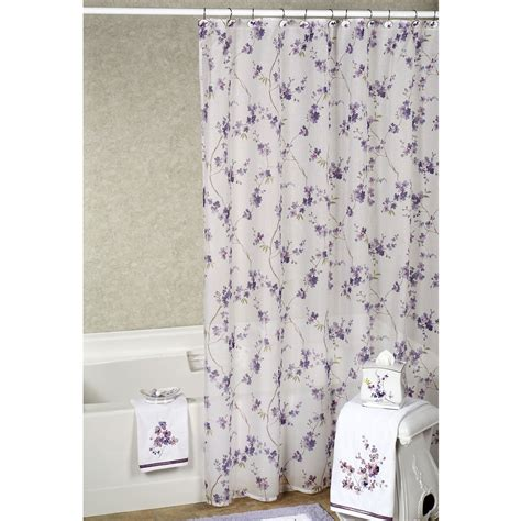 y shower curtain lavender shower curtain with valance