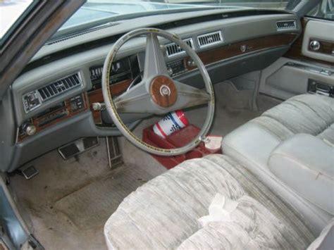 electric and cars manual 1993 cadillac fleetwood interior lighting purchase used 1976 cadillac fleetwood brougham d elegance sedan 4 door 8 2l in shullsburg