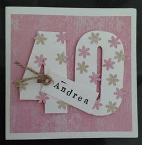 Handmade 40th Birthday Cards - easy to make 40th birthday cards search 40