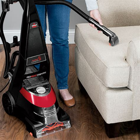 bissell couch cleaner proheat 174 essential upright carpet cleaner 88523 bissell 174