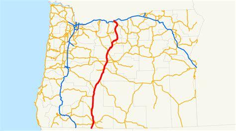 map of highway 97 oregon u s route 97 in oregon wikidata