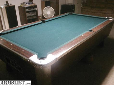 valley pool table for sale armslist for sale trade valley 8x4 coin operated pool table