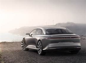 Electric Car Company Lucid Lucid Air Electric Car Test On The Roads Of San