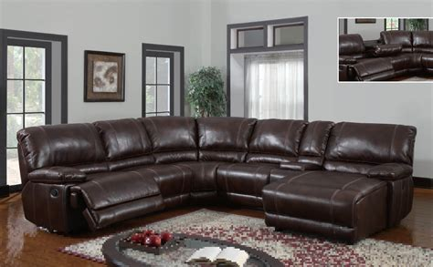 leather sectional sofa with power recliner hereo sofa